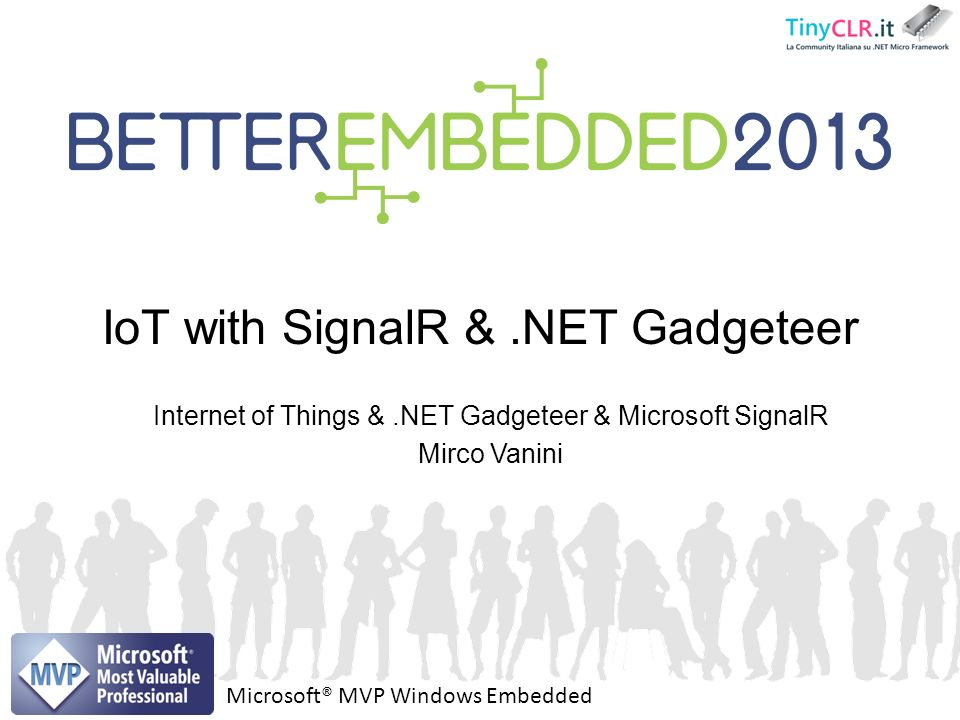 IoT with SignalR & .NET Gadgeteer