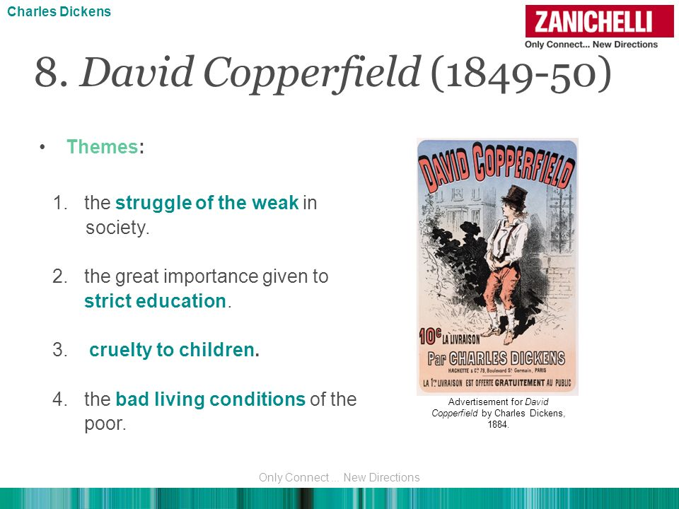 8. David Copperfield (1849-50) Themes: