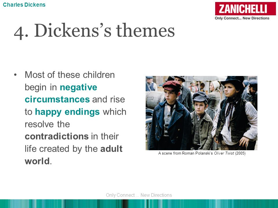 Charles Dickens 4. Dickens's themes.