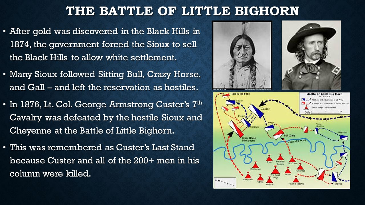 battle of little bighorn essay The battle of little big horn essay by lw284, university, bachelor's, b custer is best known for his role in the battle of the little bighorn on june 25, 1876.