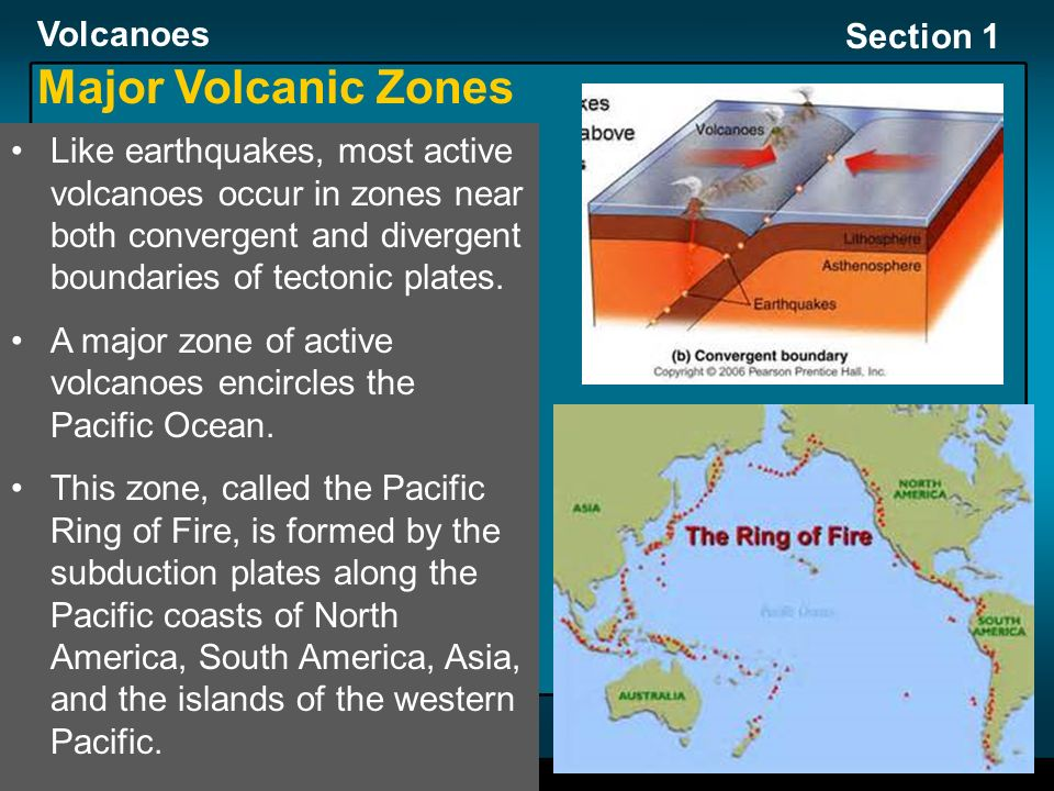 Section 1: Volcanoes and Plate Tectonics - ppt video online download