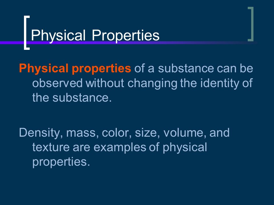 the color of a substance is a physical property - 28 ...