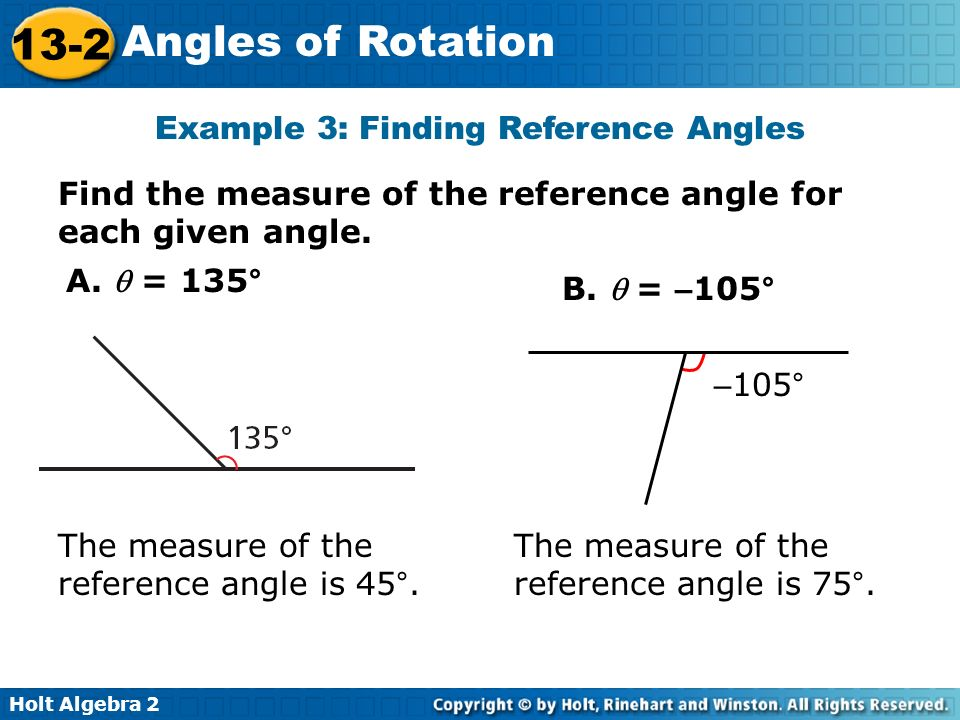 finding an angle in a right Solving non-right triangles the law states that for the angles of a non-right triangle, each angle of the triangle has the same ratio of angle measure to sine.