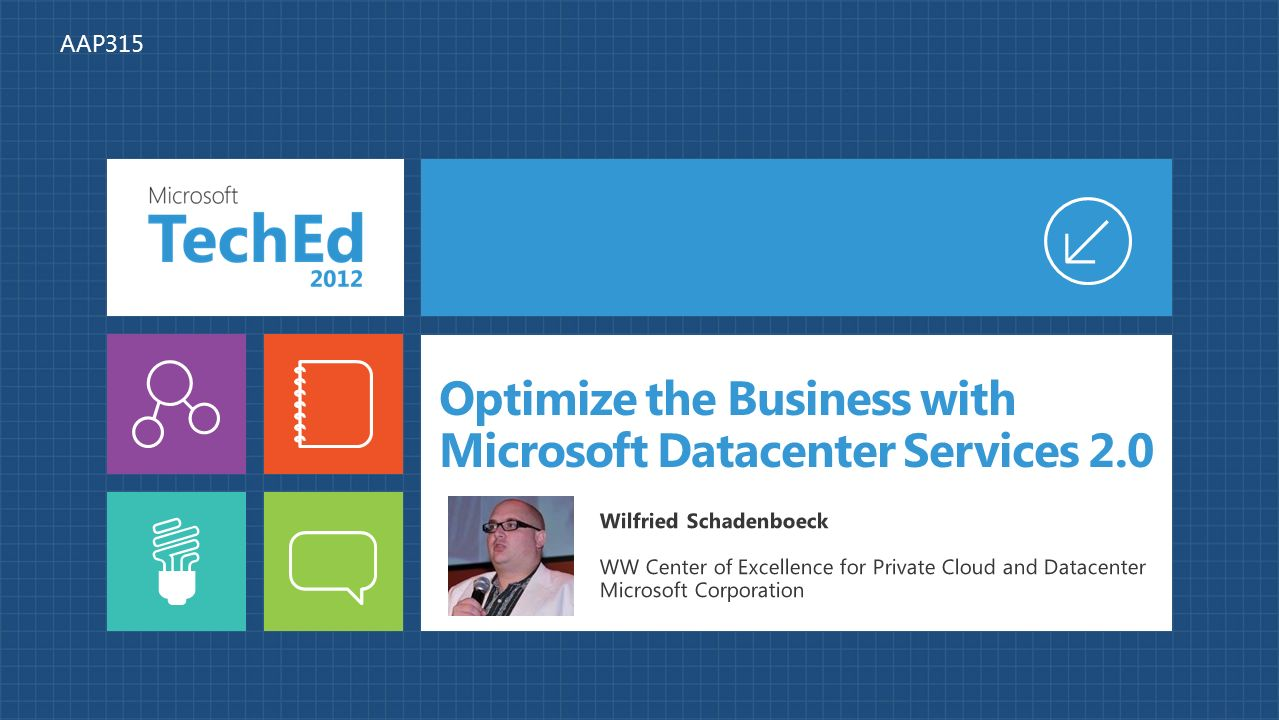 Shared services evangelists 2 0 - Optimize The Business With Microsoft Datacenter Services 2 0