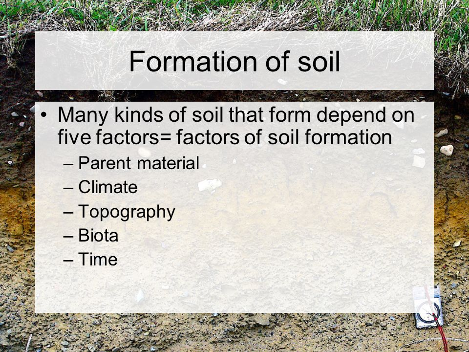 Chapter 5 weathering and soil ppt video online download for Meaning of soil formation