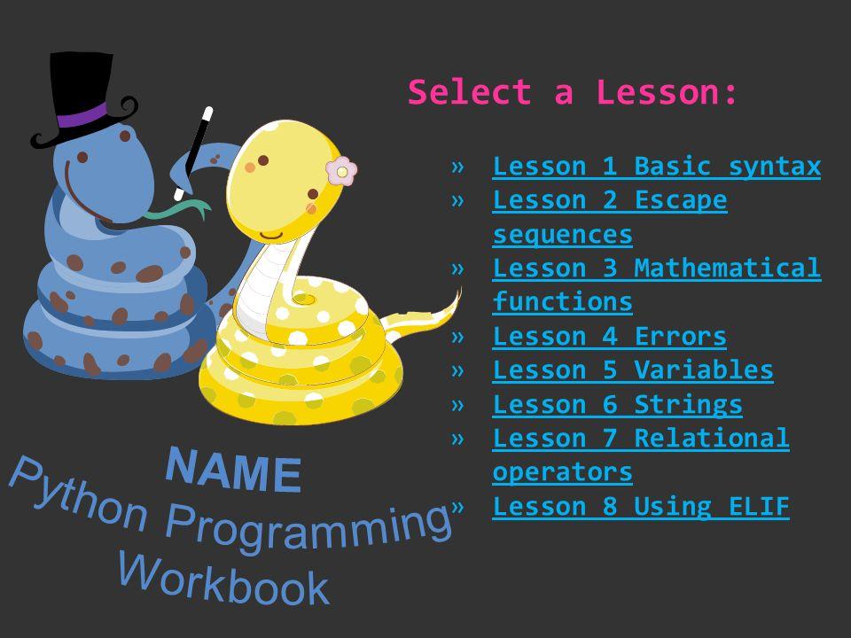 the python workbook pdf download