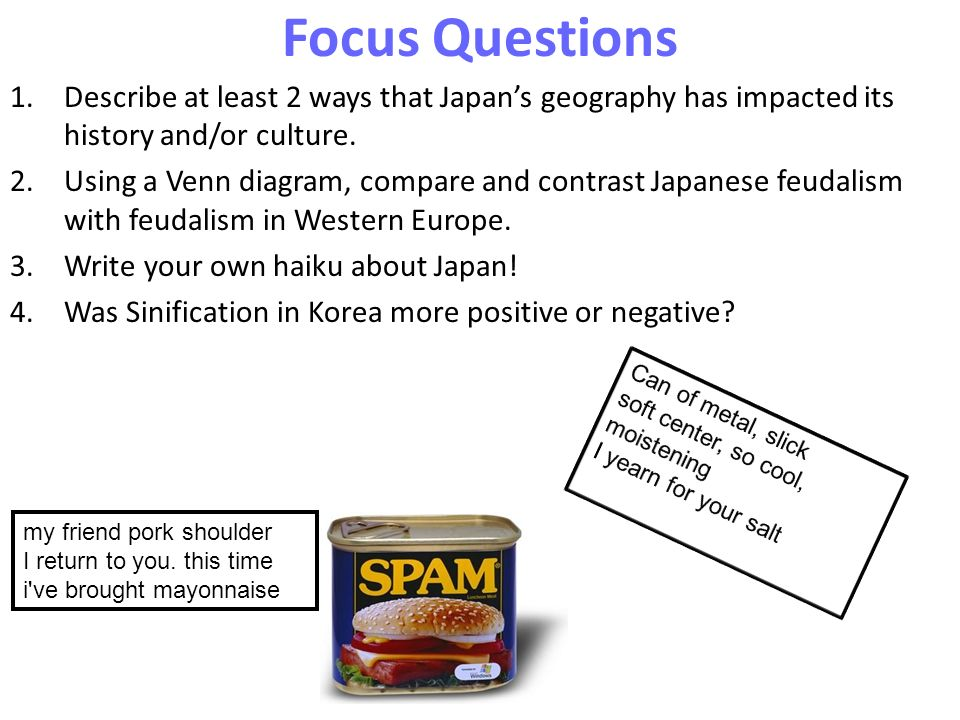 compare and contrast japanese and european feudalism chart