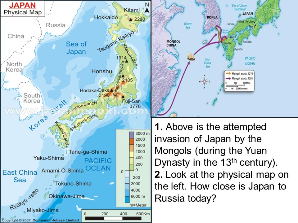 Aim Was Feudalism In Japan Similar To European Feudalism Ppt - Japan map 1500