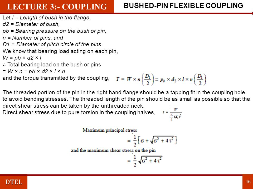 BUSHED-PIN FLEXIBLE COUPLING
