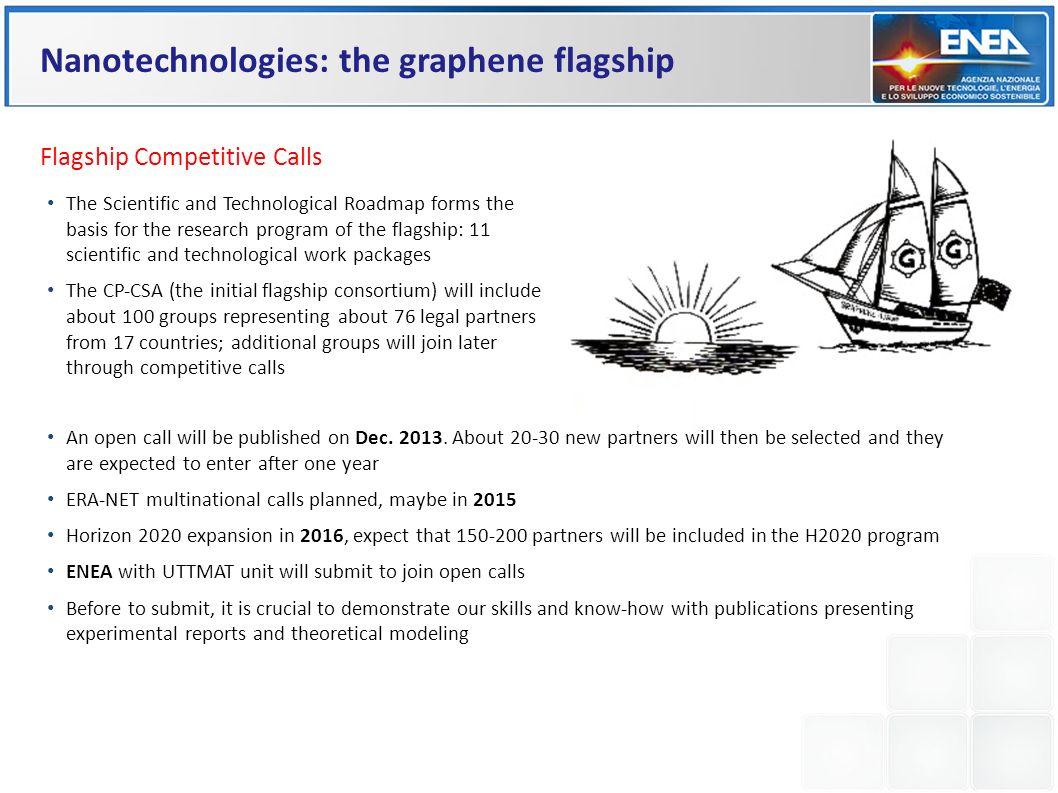 Nanotechnologies: the graphene flagship
