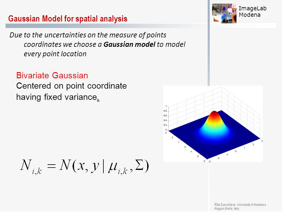 Gaussian Model for spatial analysis