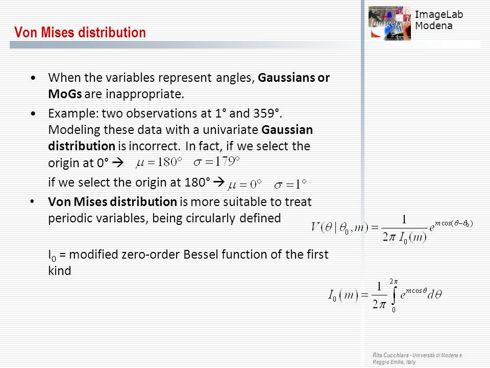 Von Mises distribution