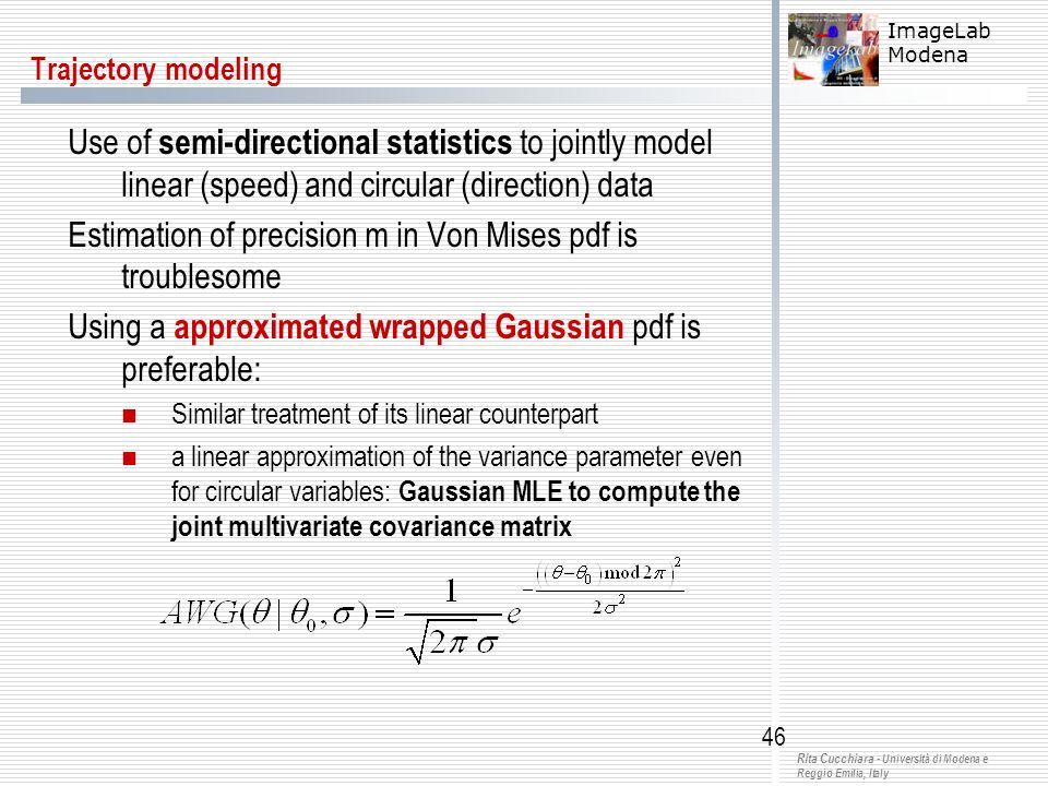 Estimation of precision m in Von Mises pdf is troublesome