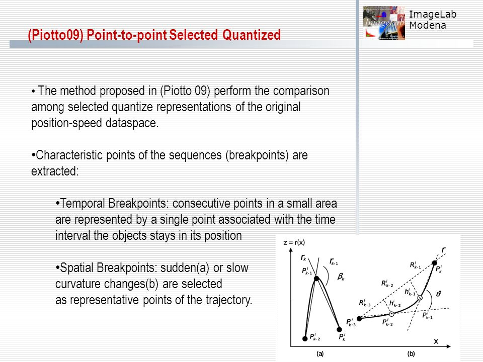 (Piotto09) Point-to-point Selected Quantized