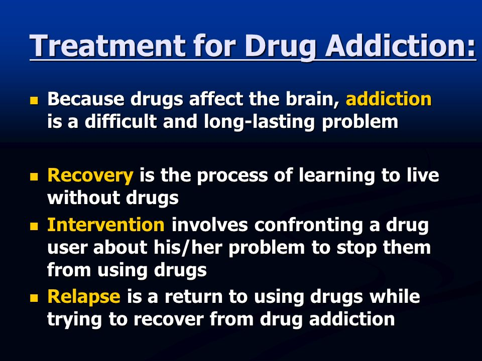 how drug addicts affects families