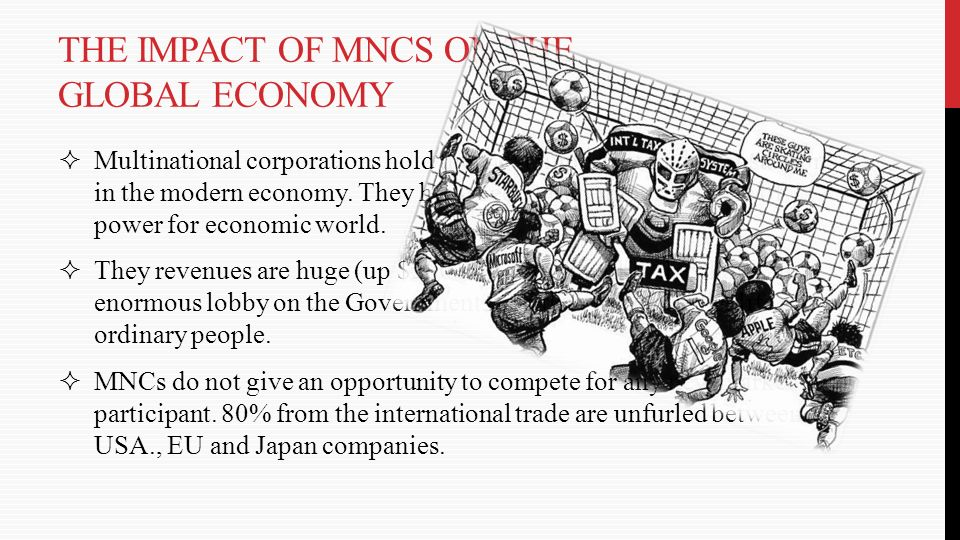 the impact of globalisation on multinational The negative impact of globalization on nigeria globalization on nigeria by focusing on its impact on science and ruling elites of these multinational.