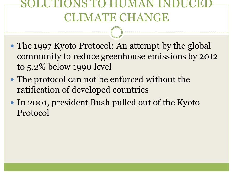 Views on the Kyoto Protocol