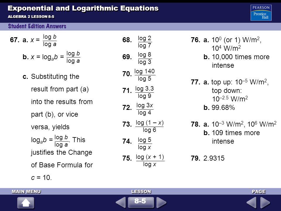 Exploring Exponential Models - ppt download