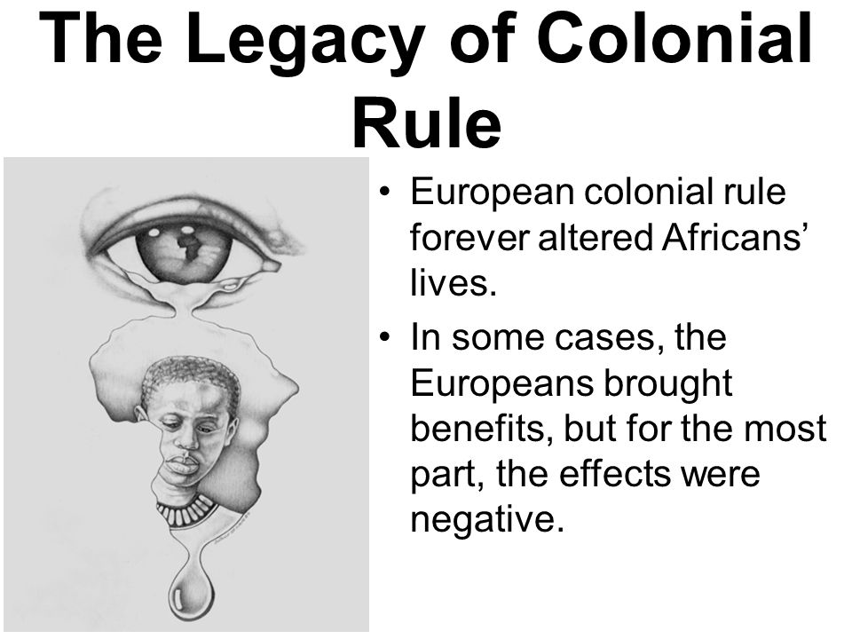 the legacy of colonialism Answer to jerry kloby in the legacy of colonialism provides a case study of colonialism of the congo by the belgians at the end.