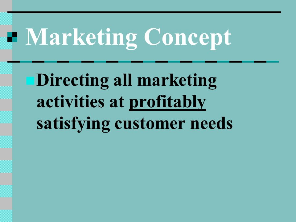marketing meeting needs profitably Marketing in ib business management is one of the five core topics and is assessed in both paper 1 and paper 2 sl and hl examinations marketing is the management task that links the.