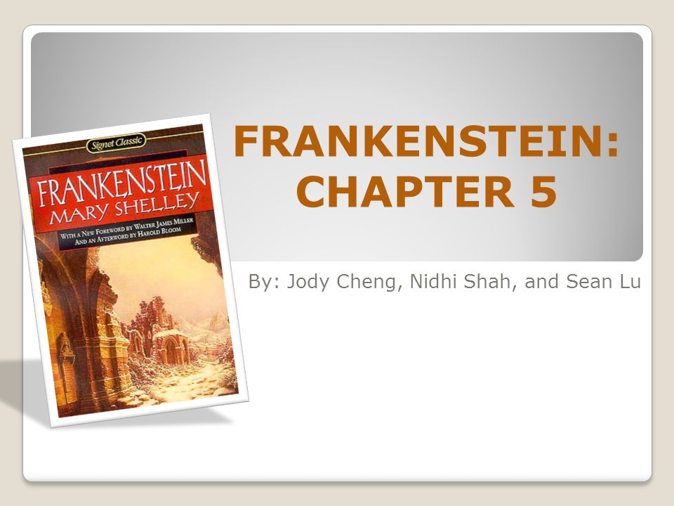 compare contrast essay frankenstein book movie In both mary shelley's gothic novel frankenstein and mel brook's movie young frankenstein, frankenstein, the protagonist, is a scientist.