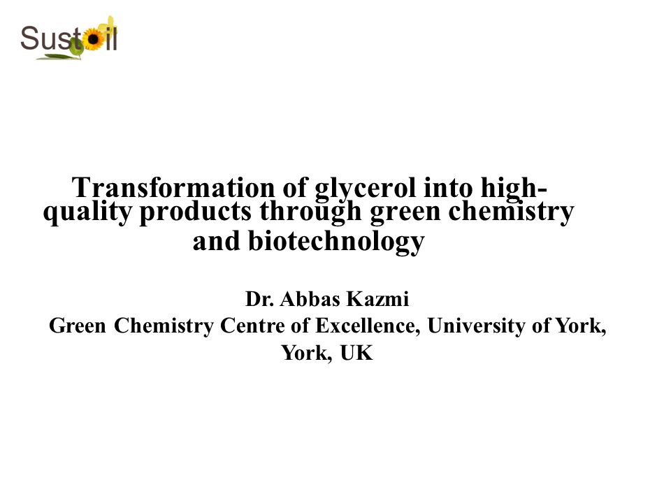 Green Chemistry Centre of Excellence, University of York, York, UK