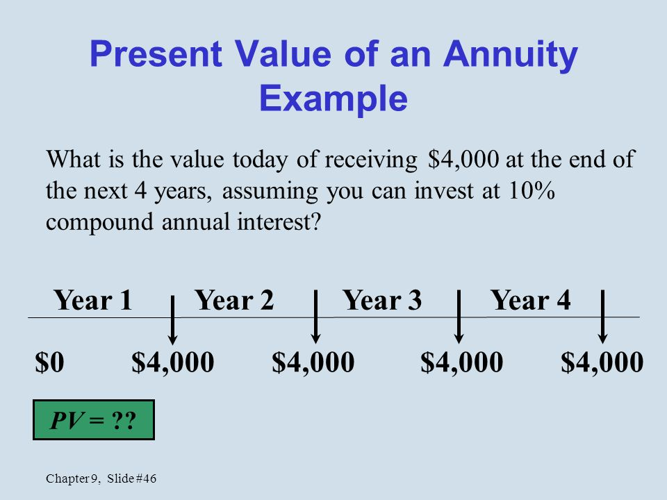 """net present value vs other techniques Discounted payback net present value profitability index 9-3 chapter outline (continued) the average accounting return the internal rate of return comparison valuations 1 2 3 coupon payments are fixed stock dividends change or """"grow"""" over time project cash flows are typically different each year 9- 11."""