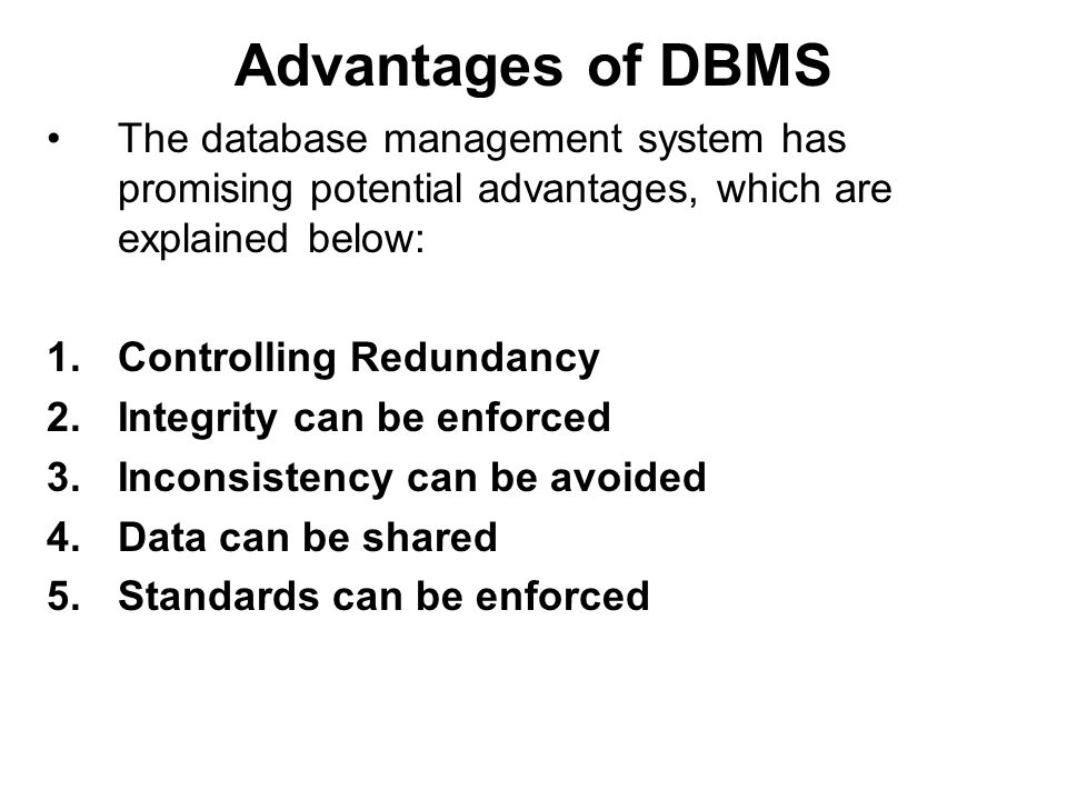 Difference Between Dbms And File System Ppt Video Online