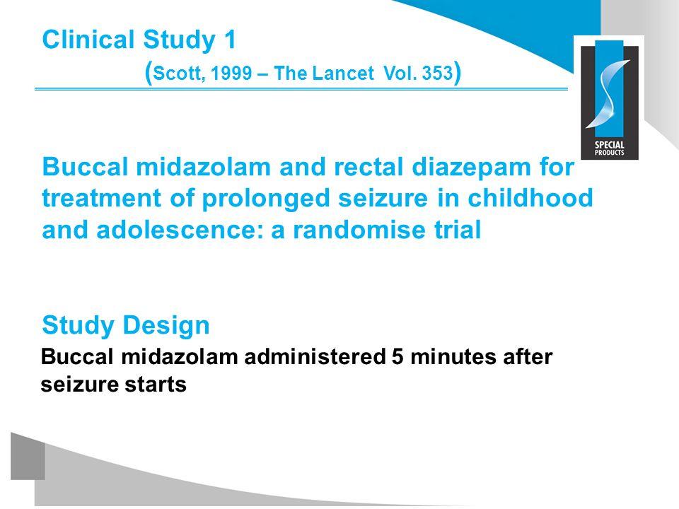 Clinical Study 1 (Scott, 1999 – The Lancet Vol