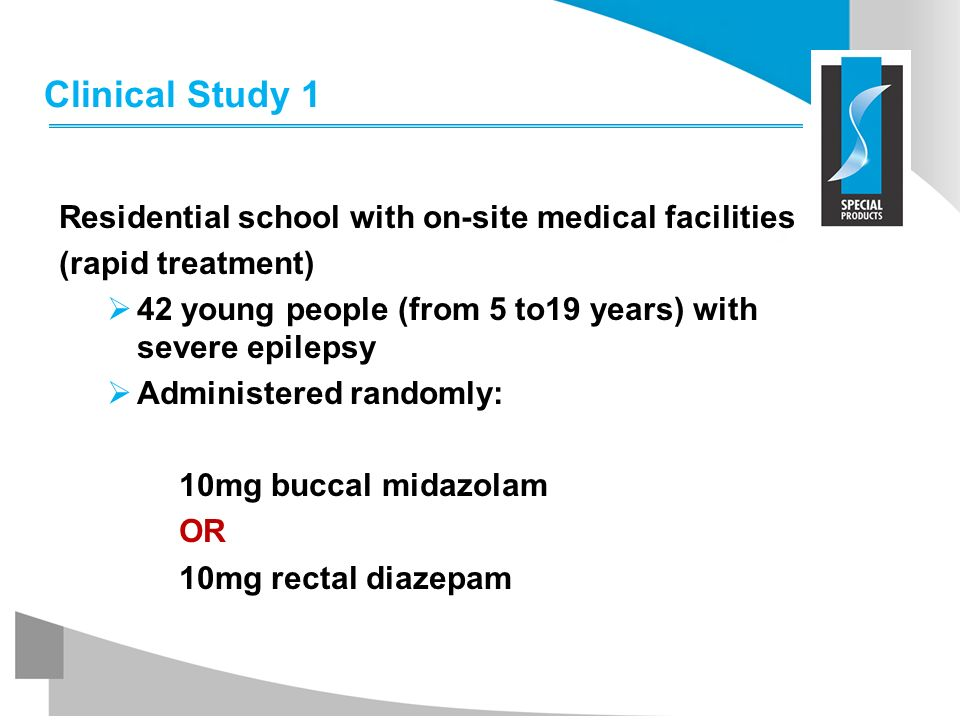 Clinical Study 1 Residential school with on-site medical facilities