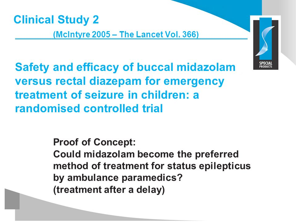 Clinical Study 2 (McIntyre 2005 – The Lancet Vol
