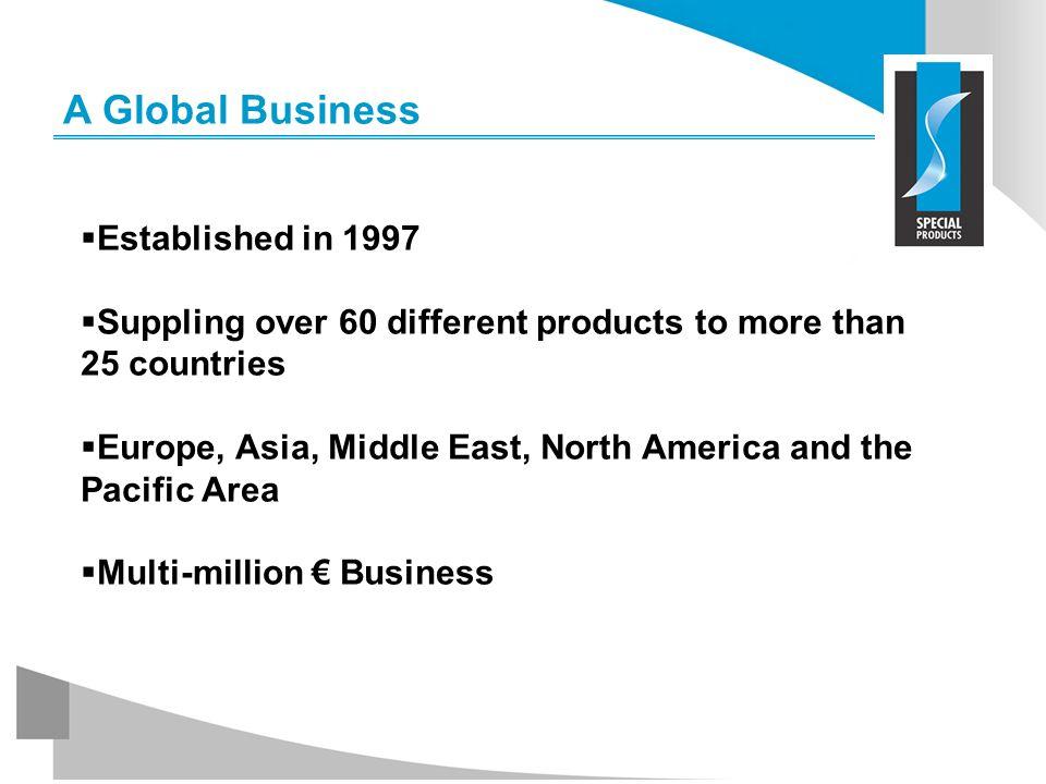 A Global Business Established in 1997