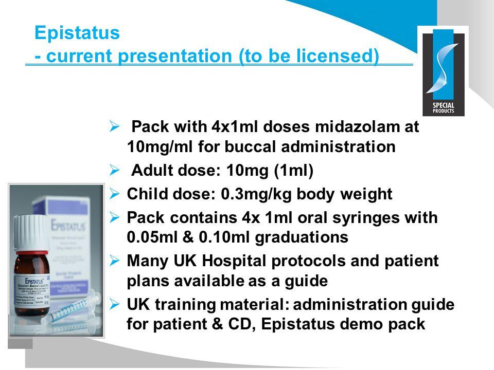 Epistatus - current presentation (to be licensed)