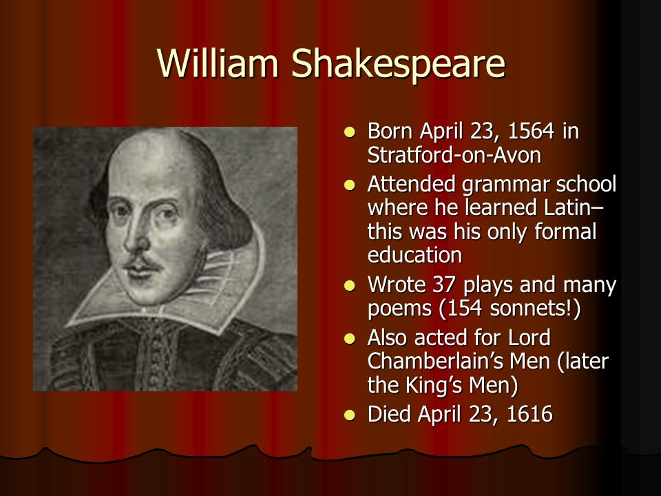 life and reputation of william shakespeare Where did shakespeare die and what could have caused shakespeare's death with stratford-upon-avon's reputation for william shakespeare: timeline of his life.