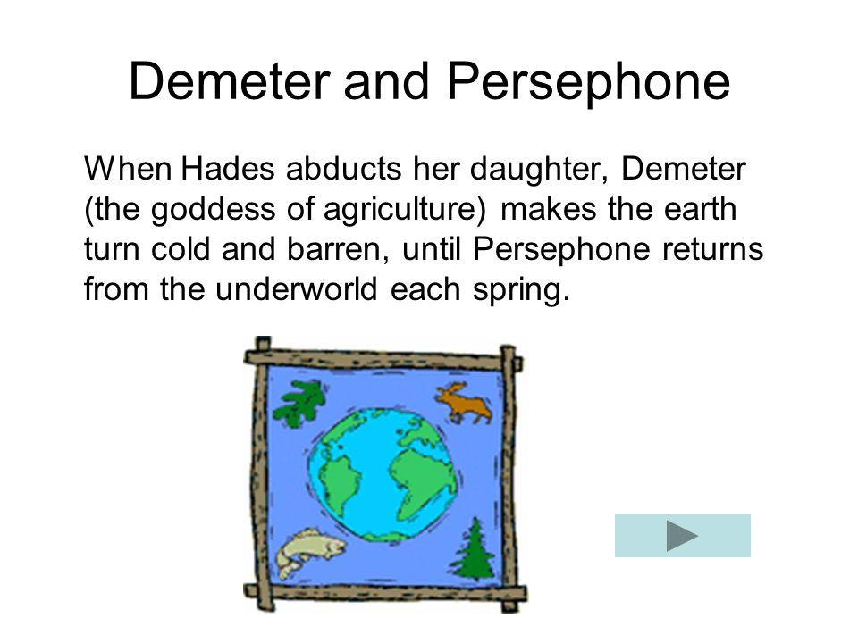 greek mythology demeter and persephone