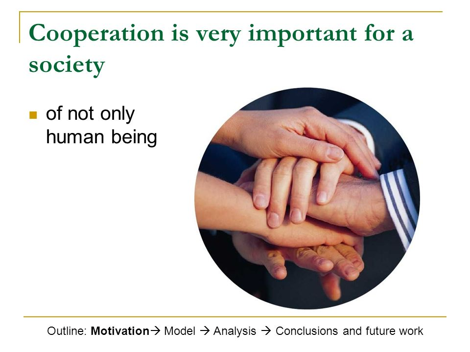 Importance of Cooperation in the Workplace