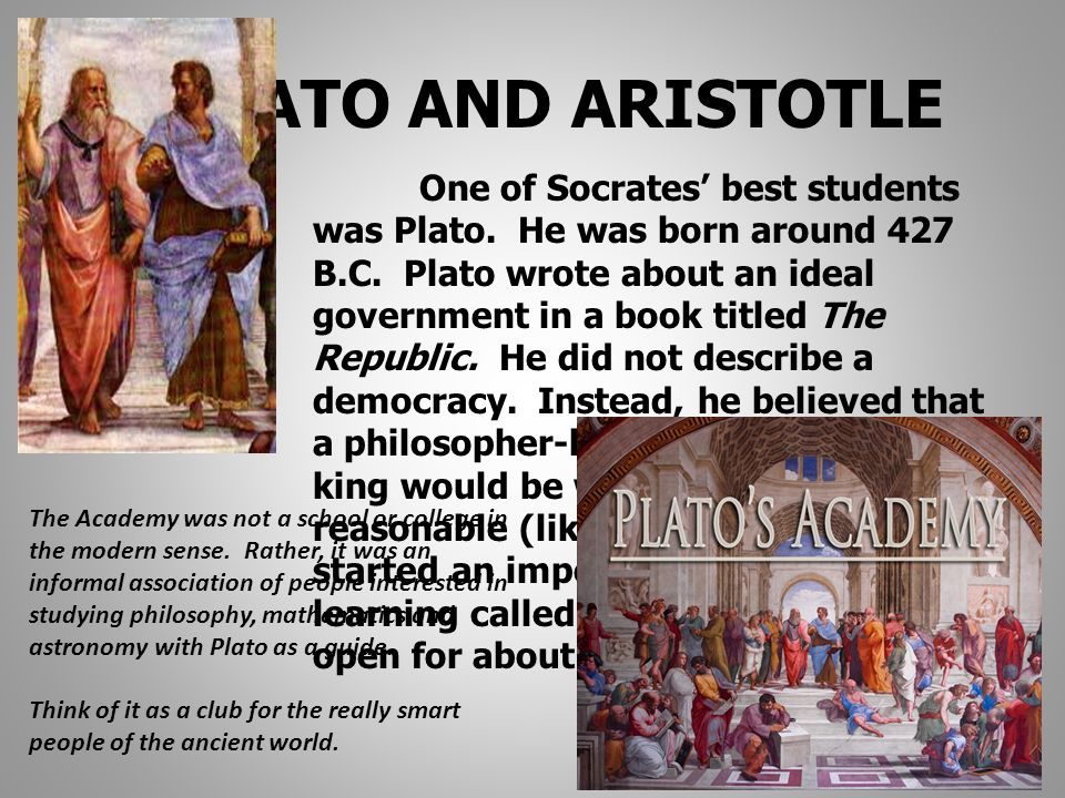 platos and aristotles views on goodness What is the good life political views plato and aristotle's disagreement over the nature of individuals and the city influences their view of.