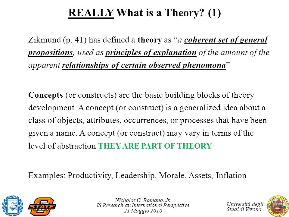 REALLY What is a Theory (1)