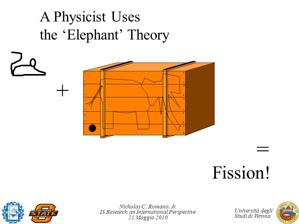 A Physicist Uses the 'Elephant' Theory
