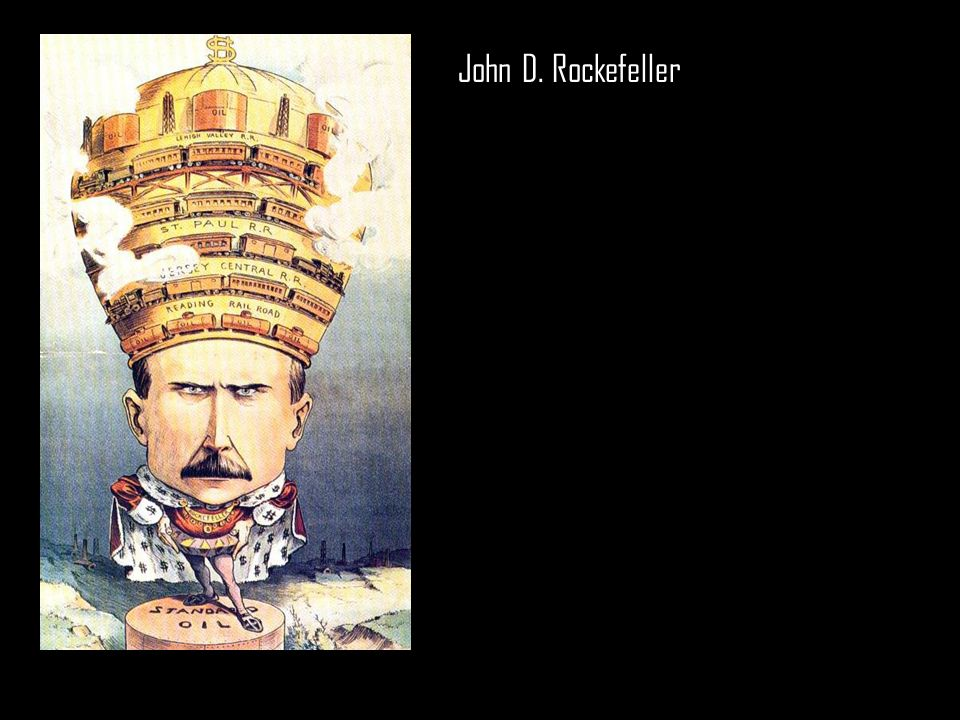 john d rockefeller as a captain of industry essay John d rockefeller was the head of the standard oil company and one of the world's richest men he used his fortune to fund ongoing philanthropic causes entrepreneur, ceo, famous business leaders.