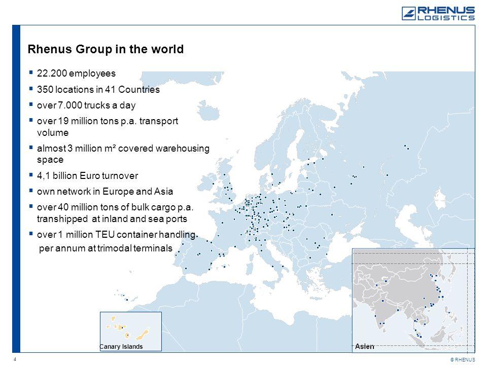 Rhenus Group in the world