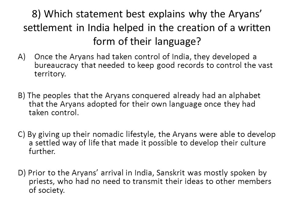 The Aryans. - ppt video online download