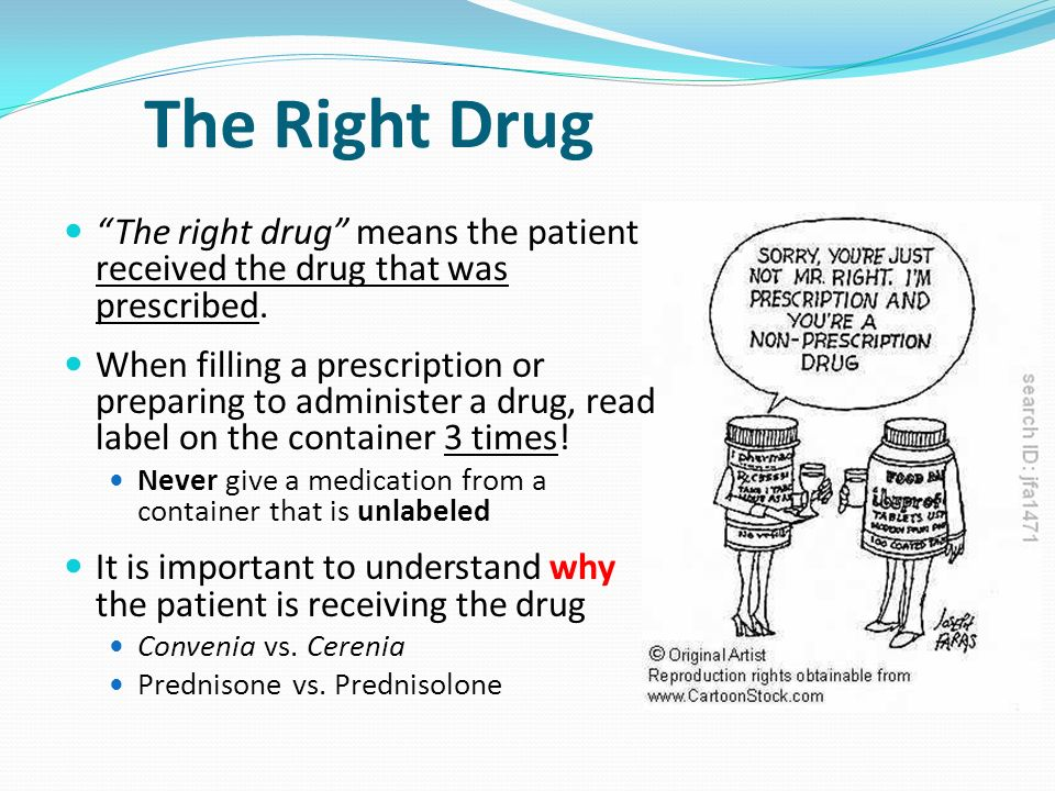 drug vs medication