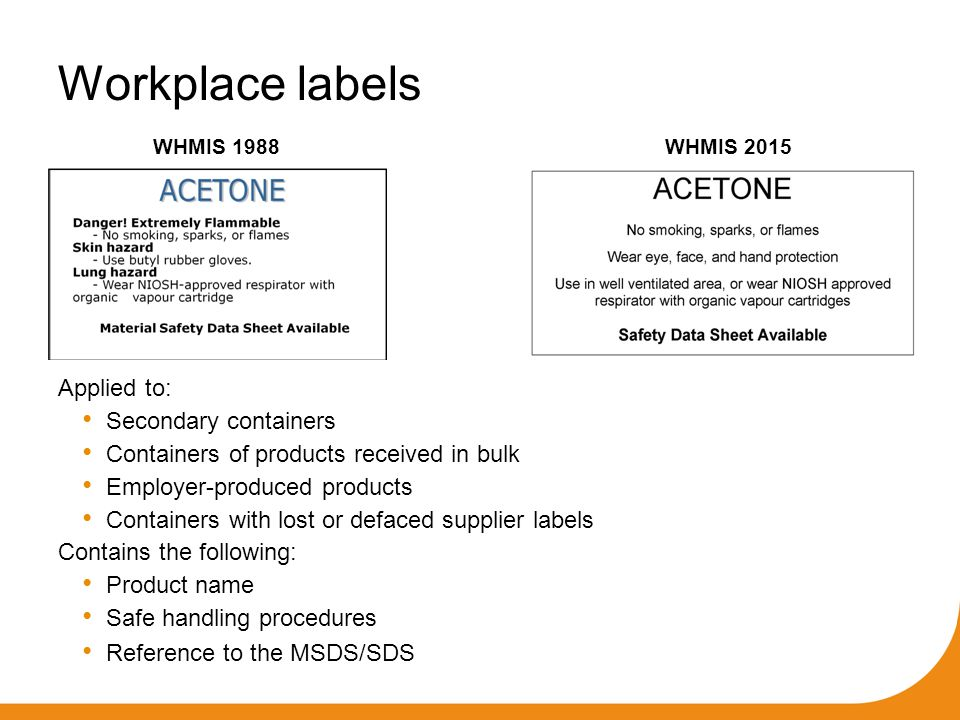 Ohs webinar workplace hazardous materials information for Whmis workplace label template