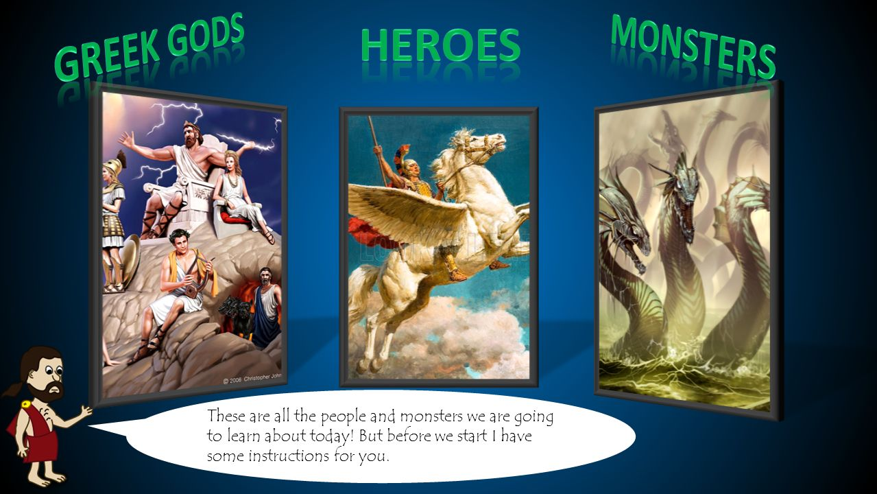 Theme Ancient Greek Mythology Audience 6th Grade Ppt