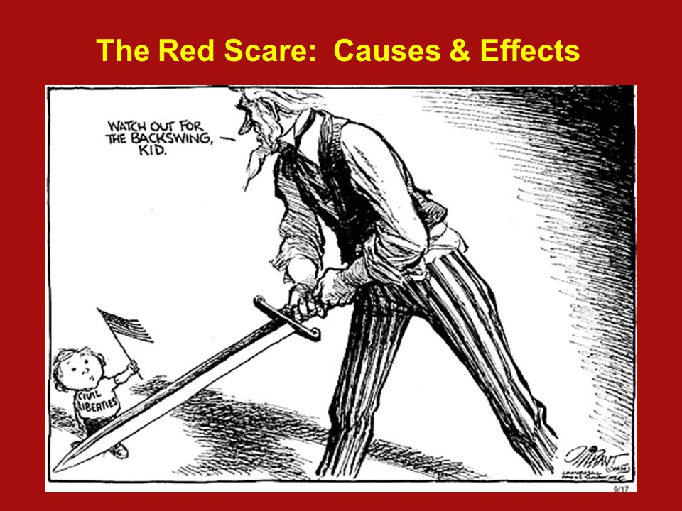 mccarthyism and the red scare essay Essay 2, unit iv describe the reasons for, the techniques used in, and the results of the second red scare of the 1950s as a result of the development of the cold war in the late 1940s most americans came to believe that communism threatened world peace and the liberties of free people everywhere, including the united states.