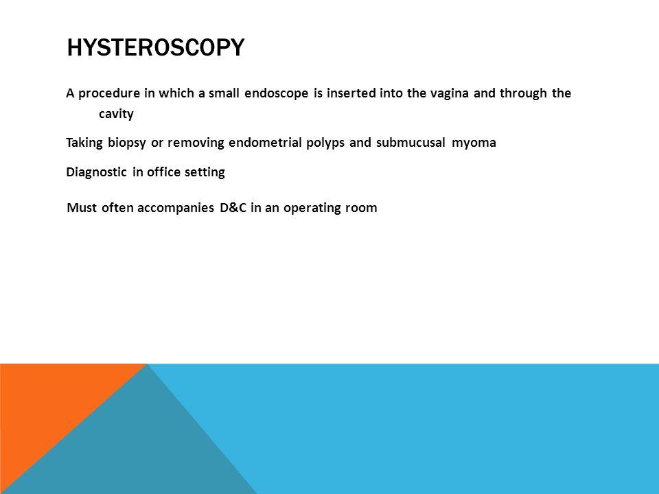 Hysteroscopy Abnormal Uterine Bleeding In Patient