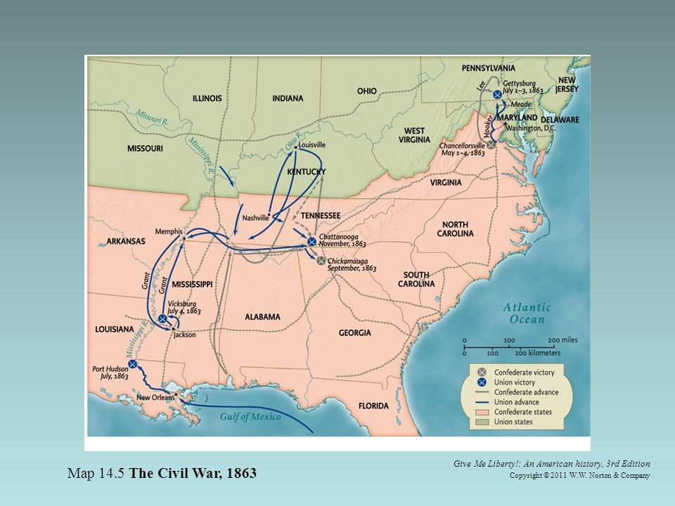 Map Of Us States During Civil War - Picture Ideas References