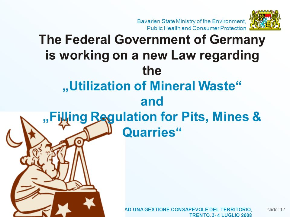 """Utilization of Mineral Waste"