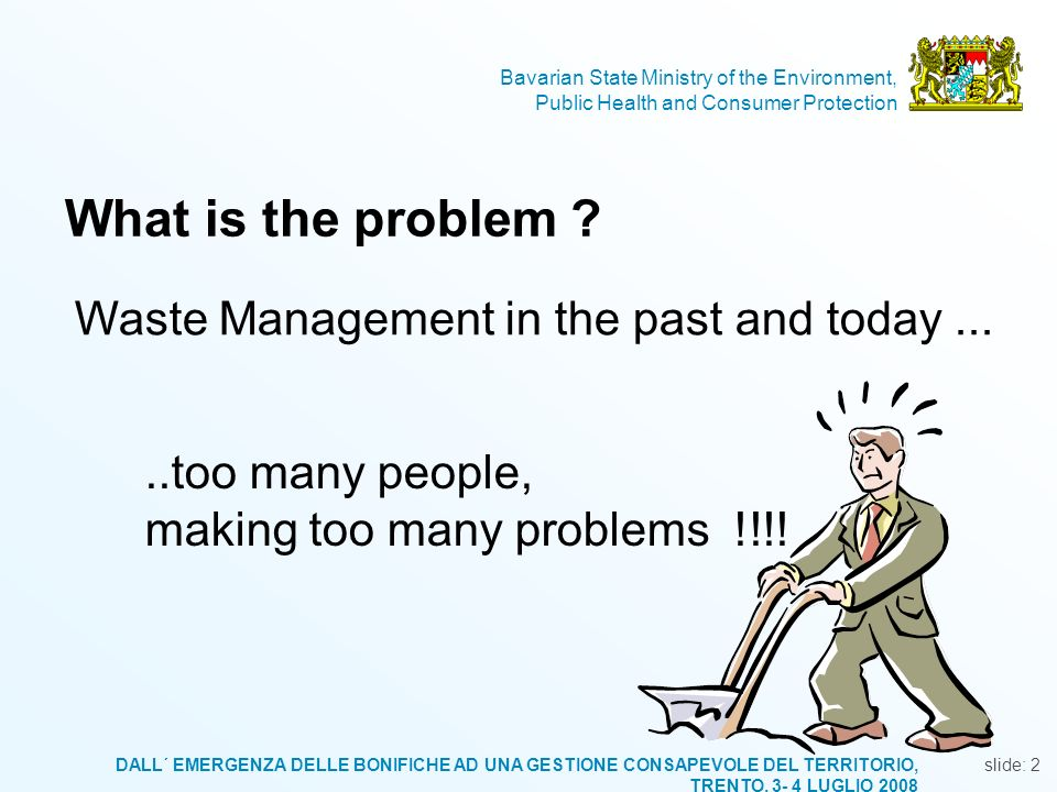 What is the problem Waste Management in the past and today ...